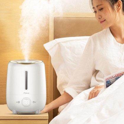 Deerma Touch Sensor Key Air Humidifier Aroma Oil Space + Carbon Filter F420S
