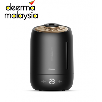Deerma Digital LED Display Air Humidifier Handle + Tank (5L) - Black Pearl F600