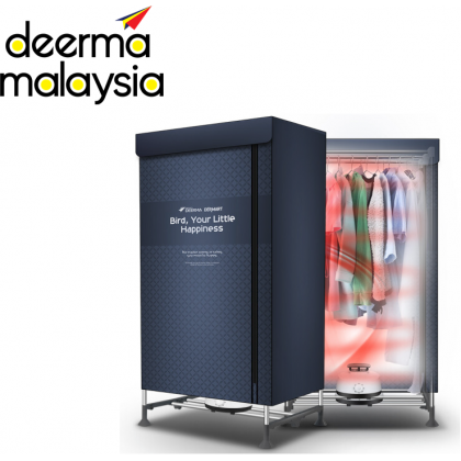 Deerma Dem V2 Portable Rapid Clothes Dryer 2 Layer - Navy Blue