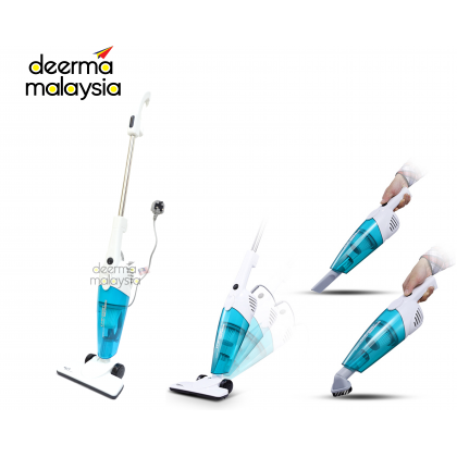 Deerma DX118M / DX118C Powerful Vacuum Suction - Blue (M'sia 3 Pin Plug)