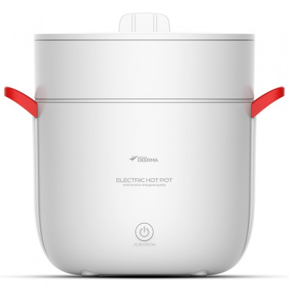 Deerma FG500 2 in 1 Function Electric Hot Pot & Steamer