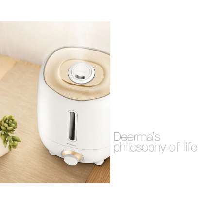 Deerma F420 / F420M Air Humidifier with 3L Capacity or + Deroma Essential Oil