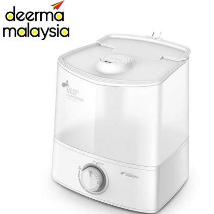 Deerma Air Humidifier Semi Transparent Water Tank Light Knob (6L) F625