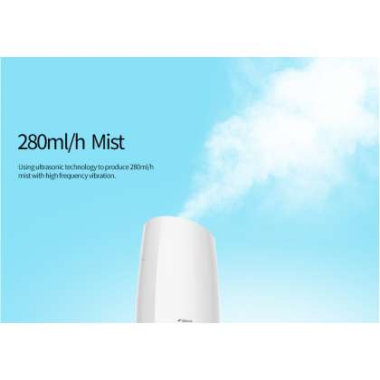 Deerma Air Humidifier Aroma Oil Tray + 2 Pin Plug + 3 Bottles Aroma (3.0L) F370