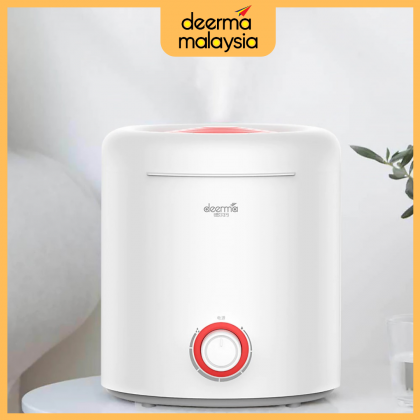 Deerma F300 Air Humidifier / Aroma Diffuser (Fill In Water From Top Tank 2.5L) or + Deroma Essential Oil [New Arrival]