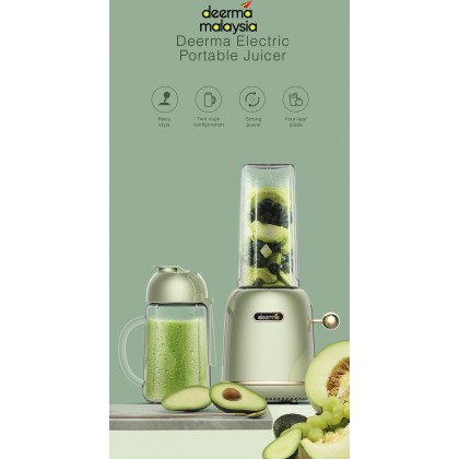 Deerma GZ30 Electric Portable Juicer Fruit Vegetable Juice Mixer (500ml)
