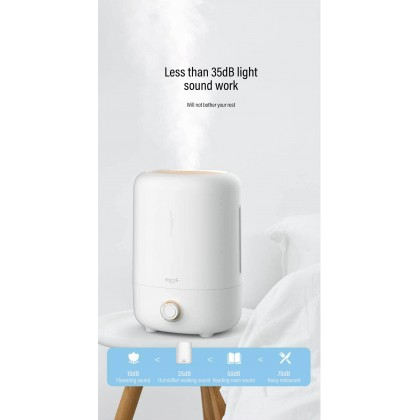 Deerma F725 Air Humidifier with 5L Large Water tank Capacity or + Deroma Essential Oil