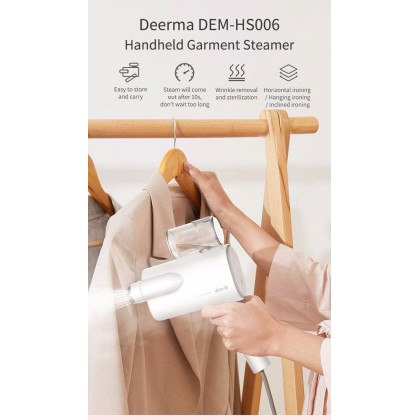 Deerma HS011 Portable Garment Steam Iron (White)