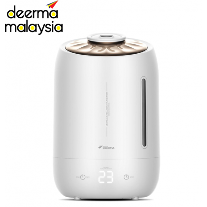 Deerma F600 (5L) Digital Shell Design Air Humidifier (Handle Water Tank)