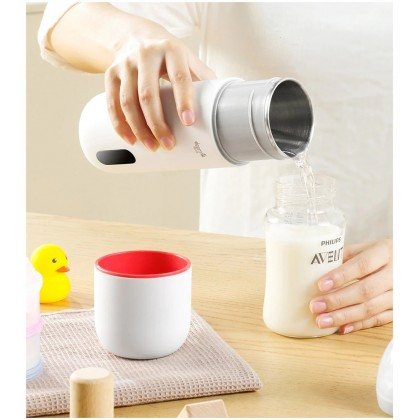 Deerma Portable Electric Thermos Bottle Cup - DR035