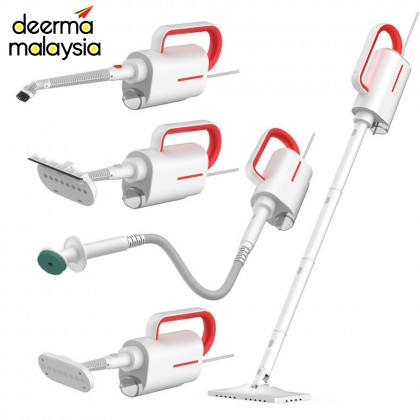 Deerma ZQ610 Steam Mop Vacuum Cleaner - With 5 Brush Head