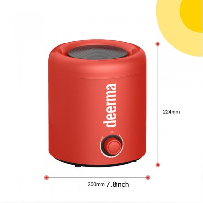 Deerma F300 Red Air Humidifier - Limited Red Color Version (2.5L)