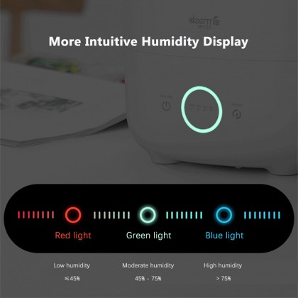 Deerma F726 Air Humidifier (5L) Digital Humidifier with Light Indicator or + Deroma Essential Oil