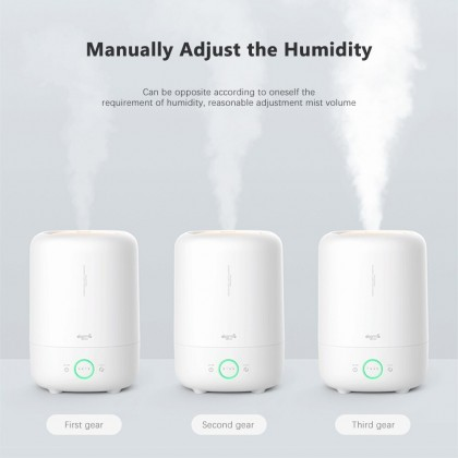 Deerma F726 Air Humidifier (5L) Digital Humidifier with Light Indicator