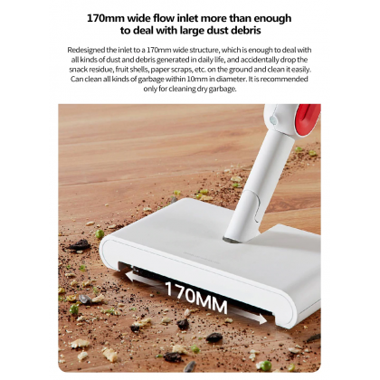 Deerma TB900 2in1 Smart Cordless Handheld Rotatable Sweeper With Water Spraying Mop Floor Cleaner (Sweep & Mop)