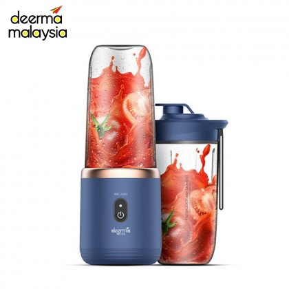 Deerma NU06 Portable Rechargeable Wireless Mini Juicer Blender with Extra Bottle Cup 400ml & Popsicle Box