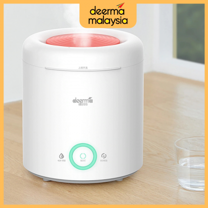 Deerma F301 Air Humidifier Aromatherapy Oil Diffuser 2.5L - with Smart Humidification Intelligent Constant Humidity /+ Deroma Essential Oil 30ml