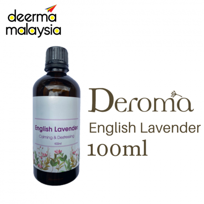 [Ready Stock] Deroma Essential Oil Aroma Oil Aromatherapy Diffuser ( New 100ml ) : Anti Bacterial