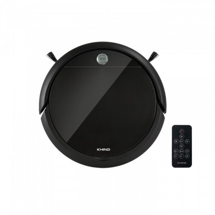KHIND Robotic Vacuum Cleaner VC9X6A -  Vacuum & Mop Function with Remote Control (4 Cleaning Modes)