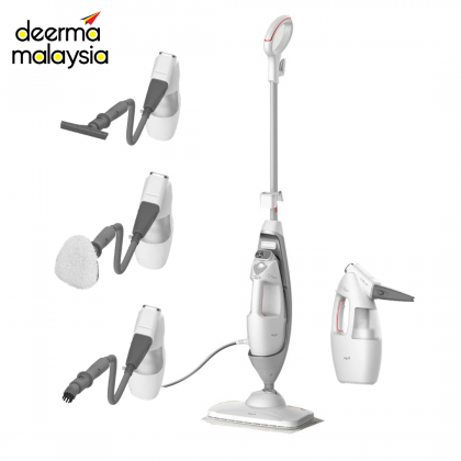 Deerma ZQ800 Multi-function Steam Mop Cleaner - with 5 Brush Head