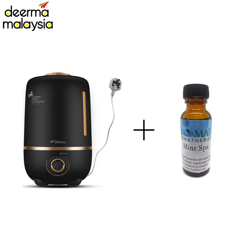 Deerma F450M Air Humidifier 4L (M'sia 3 Pin Wire Plug) + Airomatic (36ml)