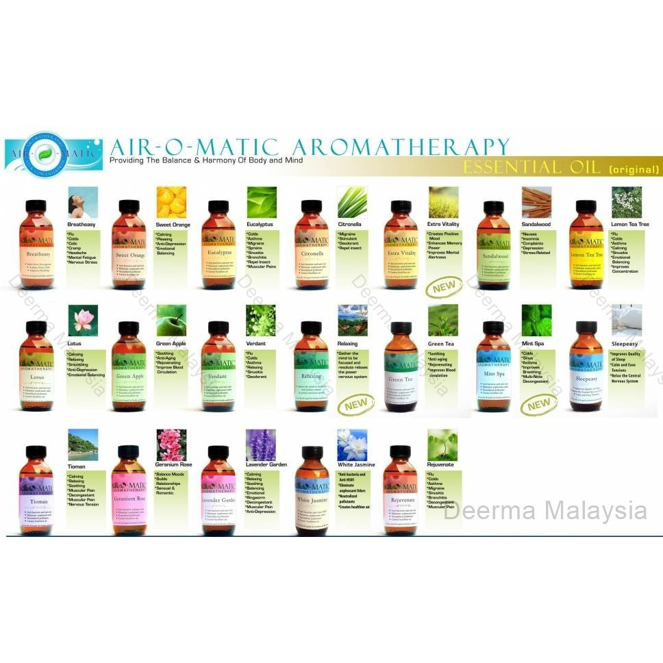 Aroma Oil Airomatic Aromatherapy Diffuser (250ml)