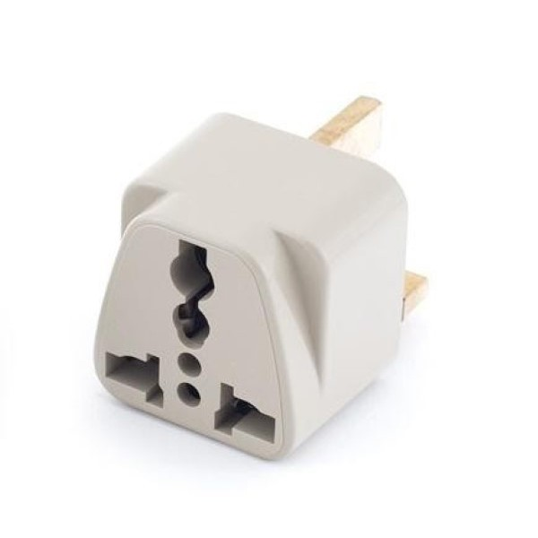 Adapter 3 Pin Socket / Connector / Converter (2 In 1)