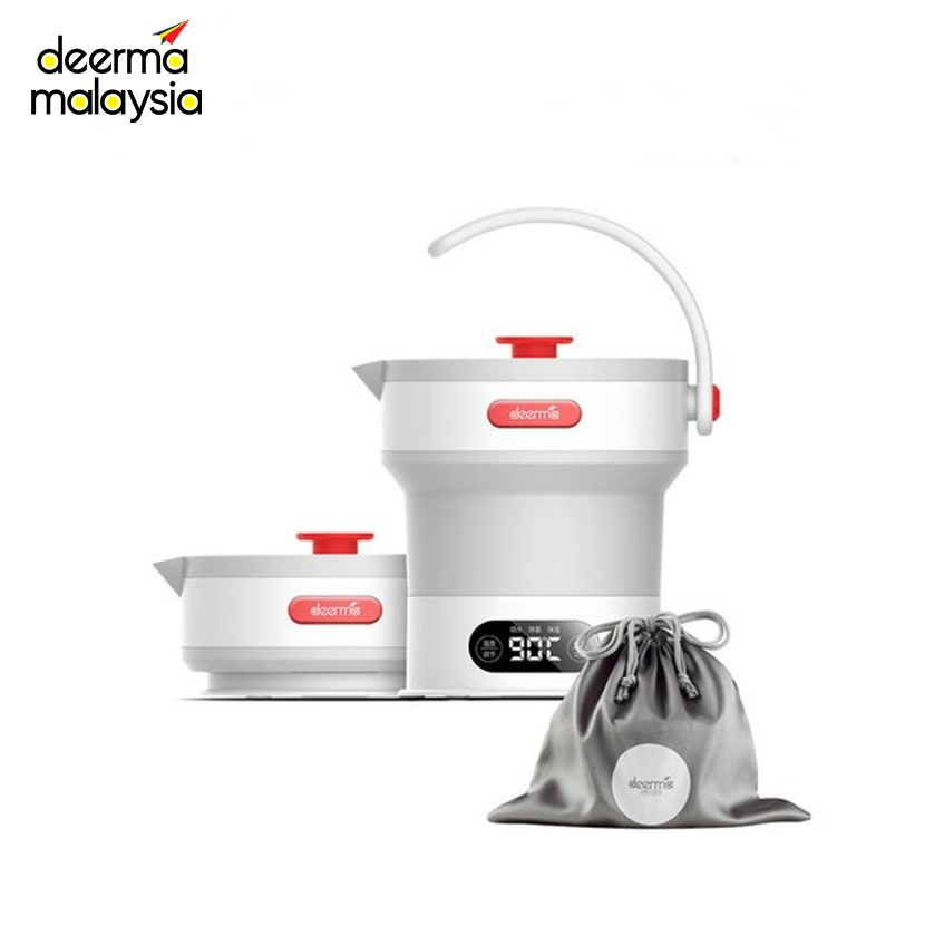 Deerma DH300 Folding Electric Kettle with Collapsible Handle